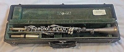 P.X. LAUBE METAL CLARINET BOEHM SYSTEM?  KEY OF Bb