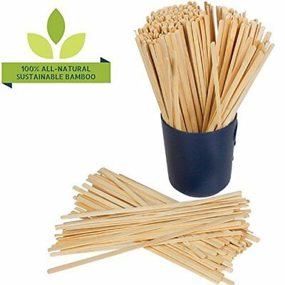 100% NATURAL BAMBOO Coffee Beverage Stirrer Sticks, 5.5-Inch Long (500 Count),..