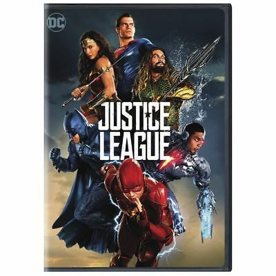 Justice League (Dvd 2018)~ Brand New~ Factory Sealed~
