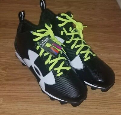 f5241fa5569c UNDER ARMOUR MENS UA Crusher RM FOOTBALL CLEATS BLACK SZ 12 1286599-001