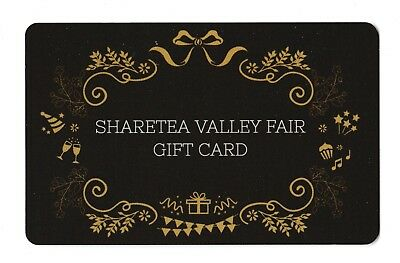 Sharetea no value collectible gift card mint #01 Valley Fair Brown