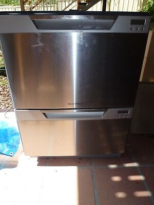 Fisher Paykel Stainless Steel Double Dishdraw