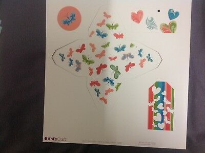 Scrapbooking/Craft kit - Abi's Craft - Butterflies