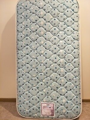 130X69CM COTTON COT MATTRESS CRIB BABY BED Australian Made Sealy