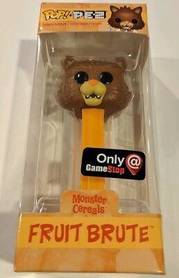 Funko Pez Monster Cereals Fruit Brute GameStop Exclusive Limited Edition