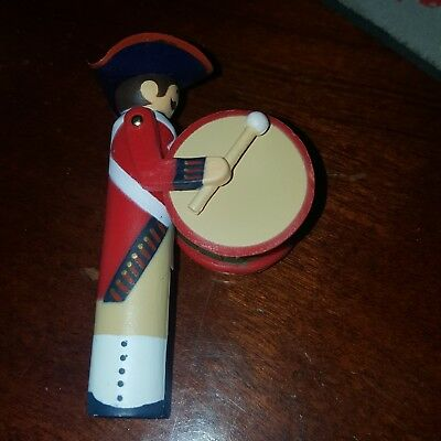 Hallmark Christmas Ornament 1983 Clothespin Soldier #2 in Series
