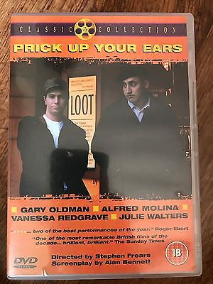 Prick Up Your Oreilles DVD 1987 True Life Gay Joe Orton Drame Film * / Gary