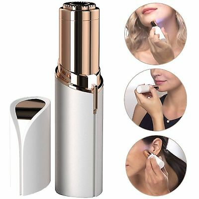 Facial Finishing Hair Remover Women Touch Flawless Painless Lipstick Design US