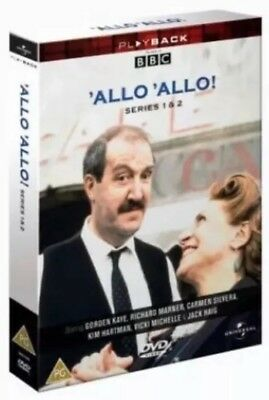 BBC Comedy 'Allo 'Allo! The Complete Series 1&2 DVD - Brand New & Sealed