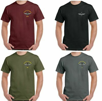 The Parachute Regiment T-Shirt Hommes Para 1 2 3 4 Régiment Parachutiste