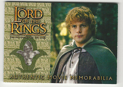 Sam's Waistcoat LORD OF THE RINGS The Fellowship of the Ring LOTR Costume Card