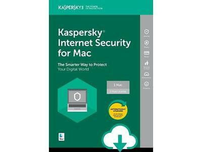 Kaspersky Internet Security Per  Mac 2019  Licenza 1  Mac 1 Anno  100% Originale