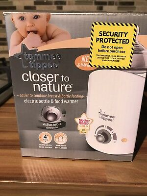 Tommee Tippee Electric Bottle And Food Warmer Brand New In Box
