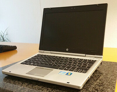 "HP ELITEBOOK 2560P WLAN WEBCAM WINDOWS 7 CORE i5 CPU 12,5"" DISPLAY UMTS DVD+RW"