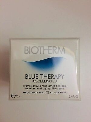 Biotherm Blue Therapy Accelerated Repairing Anti Aging Silky Cream 15 ml