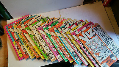 Viz, Smut, Trout, Zit and private eye