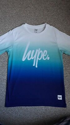 Boys HYPE T shirt Age 13 Years