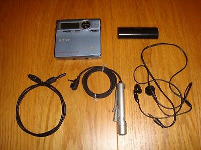 Sony MiniDisc MD Walkman MZ-R910 Atrac Type R MDLP Excellent Condition