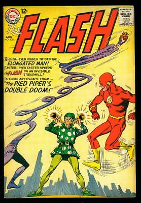 The Flash #138  Vg/fn  (Water, Foxing)