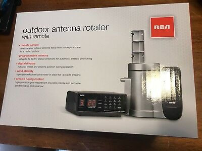 RCA Outdoor Rotator with Remote and Automatic Programmable Antenna Rotor VH226F