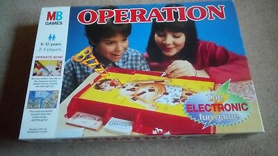 Pre owned Operation electronic fun game by MB Games excellent condition