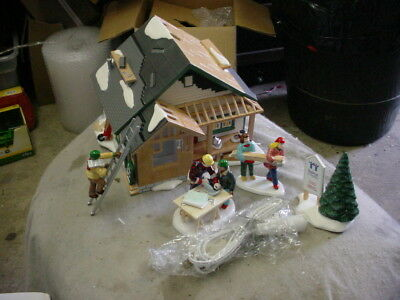 Dept 56 Snow Village A Home in the Making Habitat for Humanity #53