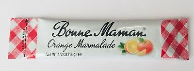 12 pcs x Bonne Maman Orange Marmalade Sachet 15g Pack mini single portions