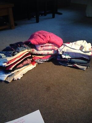 Huge Bundle Of Girls Clothes Age 18-24 Months 46 Items