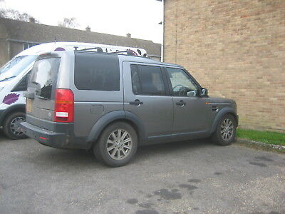 Landrover Discovery 3 Se 7 Seater Satnav Black Leather Spares Repairs