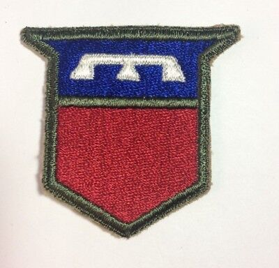 Vintage WWII WW2 US Army 76th Infantry Division Woven Shoulder Patch