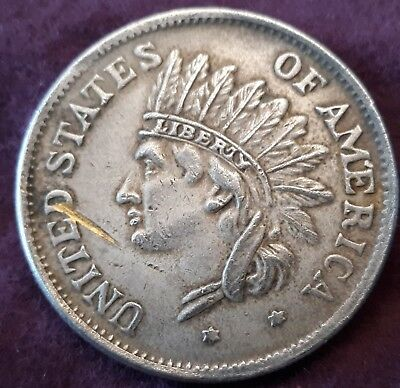 🤩1851 Us Indian Head Dollar🤩