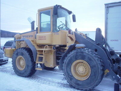 """Volvo L90E Loader w/ Quick Coupler, 15' SAS forks and 51"""" Volvo forks available"""