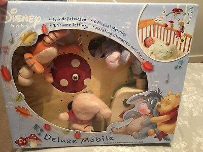 disney Winnie The Pooh Musical Baby Mobile