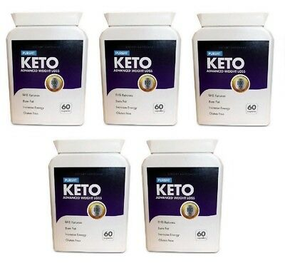 PUREFIT KETO ADVANCED WEIGHT LOSS (5X 60 Capsules) FREE SHIPPING WORLDWIDE
