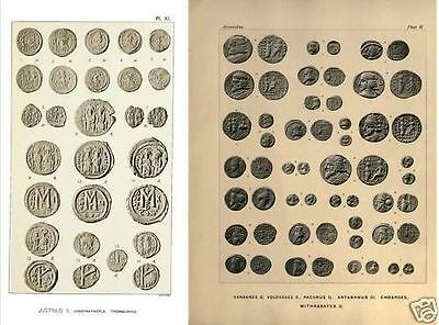 Byzantine, Parthian, Sasanian and Crusaders coins DVD - 115+ books