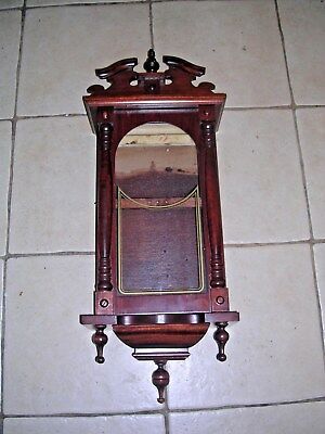 CLOCK  PARTS , WALL  CLOCK  CASE , GOOD a