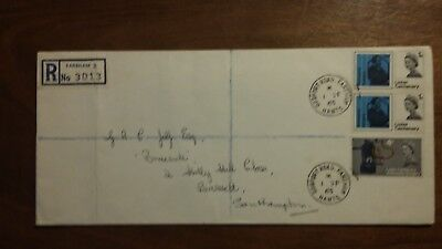 Stamps gb fdc lister 1965