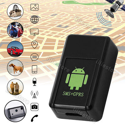 Mini GPS Locator Durable Car Tracker Pet Tracking Device Anti Theft Lost Tracker
