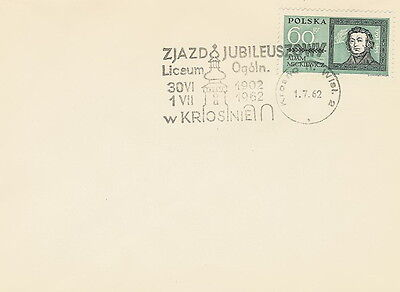 Poland postmark KROSNO - education Krosno