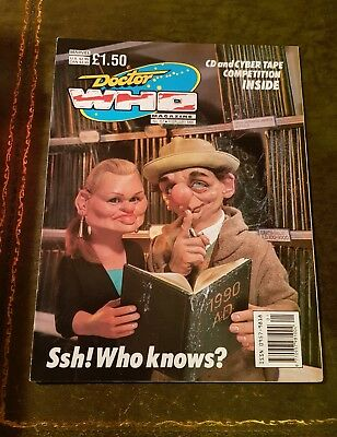 Doctor Who Magazine #157 Feb 1990 Dr.who Bbc Marvel Mag Drwho Dr Who Classic Oop