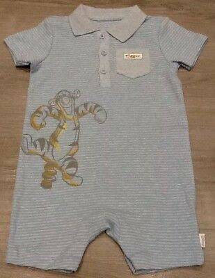 f6d42ec9ee81 MOTHERCARE DISNEY BABY Boys Tigger Romper Suit New Size 12-18 Months ...