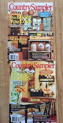 Set Of Two Primitive Country Sampler Home Toyrs Special Editions Magazines