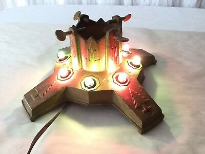 """Antique North Bros. MFG. Co. """"Yankee"""" No. 5A Cast Iron Christmas Tree Stand"""