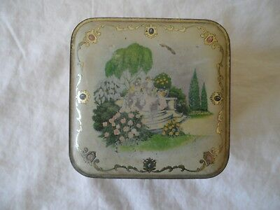 Antique POWDER TIN