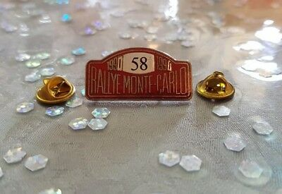 Pin's Rallye Monte-Carlo 1990 / Car Monaco 1990 Pin Badge A.c.m.