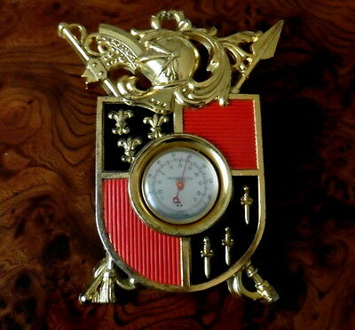 Thermometer, Wappen, foreign