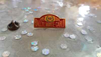Pin's Rallye Monte-Carlo 1995 / Car Monaco 1995 Pin Badge A.c.m.