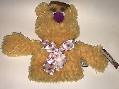 NWT FAO SCHWARZ Exclusive THE MUPPETS Show FOZZIE BEAR Hand PUPPET Plush Disney