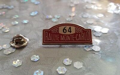 Pin's Rallye Monte-Carlo 1996 / Car Monaco 1996 Pin Badge A.c.m.