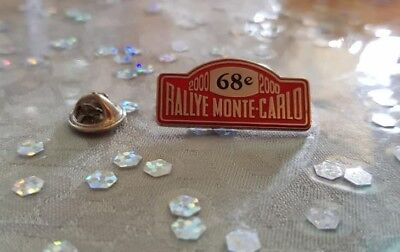 Pin's Rallye Monte-Carlo 2000 / Car Monaco 2000 Pin Badge A.c.m.